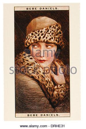 Bild von Bebe Daniels war eine US-amerikanische Schauspielerin, Sängerin, Tänzerin, Autor und Produzent 1901-1971. - Stockfoto