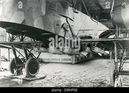 Deutsch Gotha G.V schwere Bomber, WW1 - Stockfoto