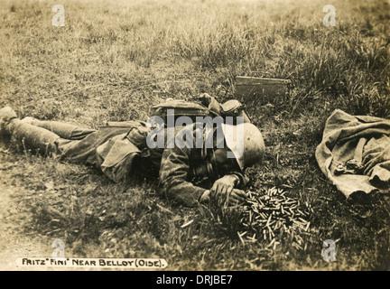 Tote deutsche Soldaten in der Nähe von Stalingrad, 1943 ...