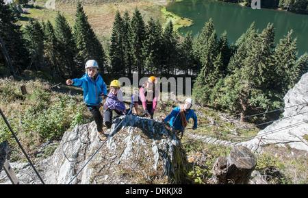 Klettersteig Zauchensee : Seewand klettersteig mysummit