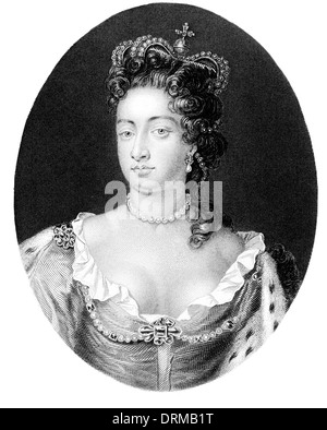 Queen Anne 1665 1714 Königin von Großbritannien von 1702 bis 1714 - Stockfoto