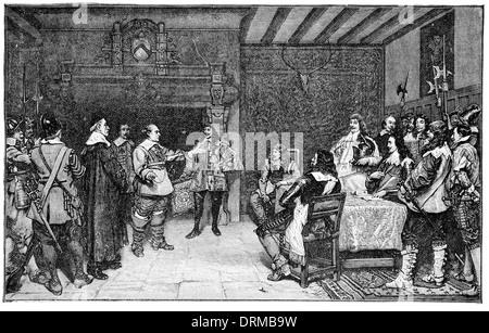 Charles ich. Vor Gloucester 1649 - Stockfoto