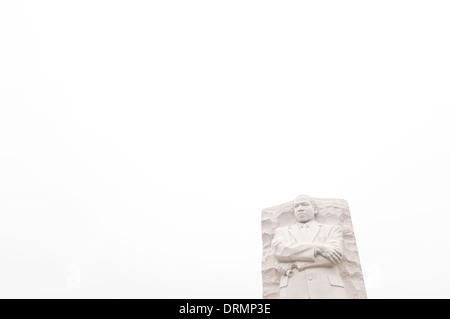 WASHINGTON DC, USA - am 16. Oktober 2011 eingeweiht, der MLK Denkmal erinnert an Civil Rights leader Dr. Martin - Stockfoto