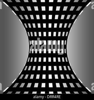 Schwarz / weiß karierten Muster - Stockfoto
