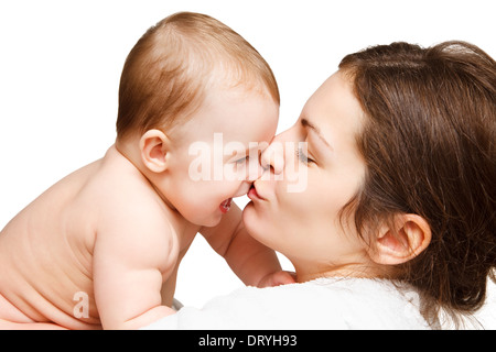 Mutter mit baby - Stockfoto
