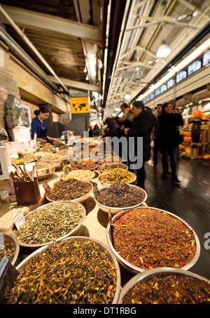 Chelsea Market, Manhattan, New York City, Vereinigte Staaten von Amerika, Nordamerika - Stockfoto