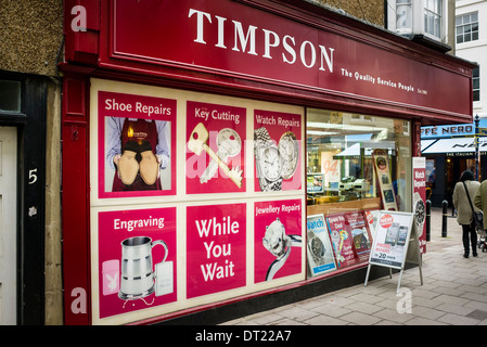 TIMPSON Shop in Devizes, UK - Stockfoto