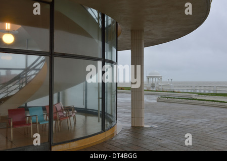 De La Warr Pavilion, Bexhill am Meer, East Sussex - Stockfoto