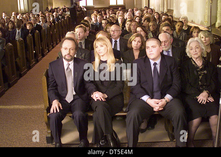 BILLY CRYSTAL LISA KUDROW & REBECCA SCHULL ANALYSIEREN, (2002) - Stockfoto