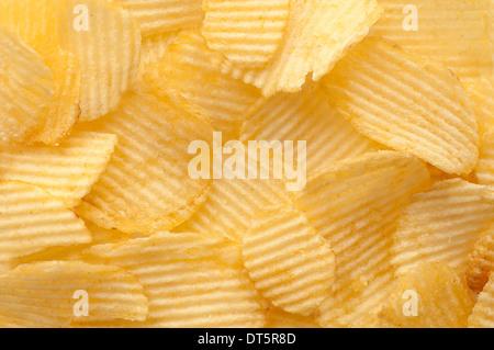 Kartoffel-chips - Stockfoto