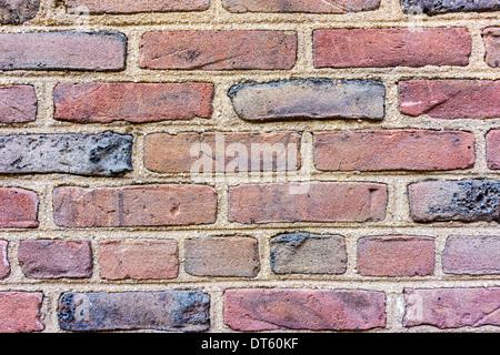 Ein Stein ist, einen Block oder eine Einheit aus keramischen Material im Mauerwerksbau - Stockfoto