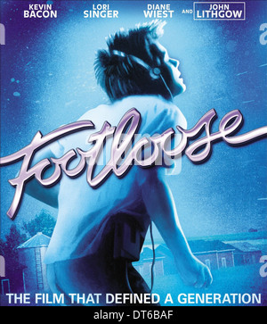 Kevin Bacon Poster Footloose 1984 Stockfoto Bild 66530251 Alamy