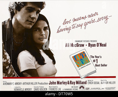passione super 8: love story (1970)  Love Story 1970 Poster