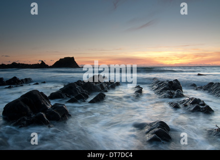 Hartland Quay, Devon, UK - Stockfoto