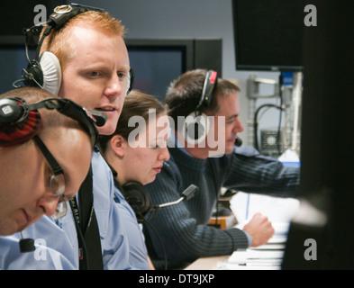 Betreiber von RAF-Boulmer ist der Sitz der Luftraumüberwachung und Control System (ASACS) Kraft. - Stockfoto