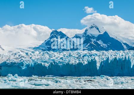 Blaues Eis der Perito Moreno Gletscher, Argentinien - Stockfoto