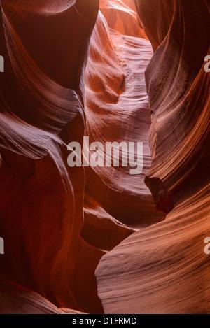 Upper Antelope Canyon, Arizona, USA - Stockfoto