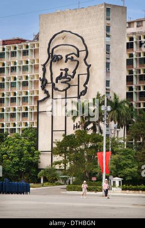 Platz der Revolution, Havanna, Kuba - Stockfoto
