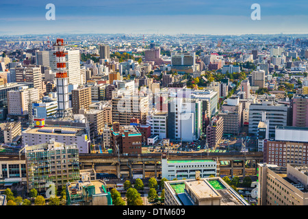 Sendai, Japan Stadtbild in der Central Station. - Stockfoto