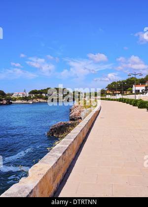 Blick auf die Küste in Ciutadella auf Menorca, Balearen, Spanien - Stockfoto
