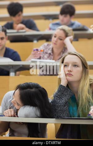 gelangweilt college studenten im h rsaal schlafen stockfoto bild 27216869 alamy. Black Bedroom Furniture Sets. Home Design Ideas
