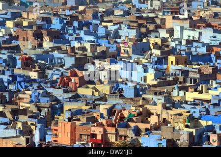 Jodhpur blau Stadt in Indien - Stockfoto