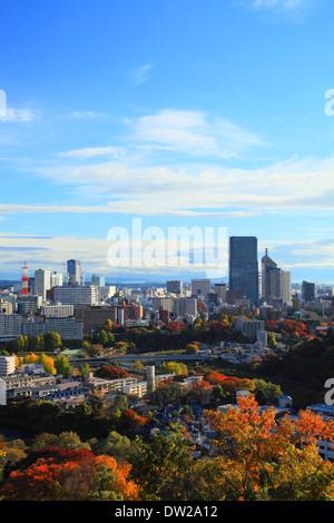 Sendai Stadtbild - Stockfoto