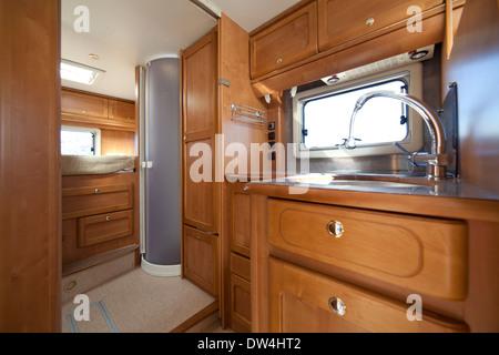 Camper van Badezimmer Interieur Stockfoto, Bild: 67099224 - Alamy