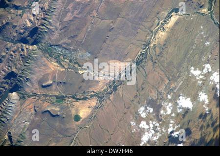 Stadt Prince Albert, Südafrika - Stockfoto