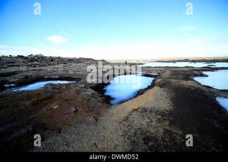 Blaue Lagune, Island, Europa - Stockfoto