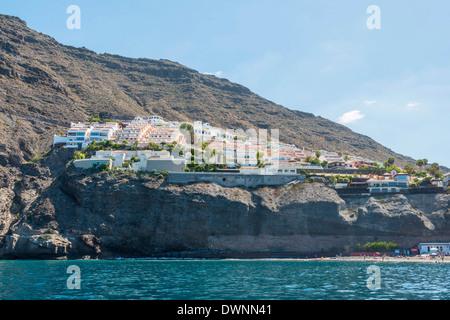 Hotel-Komplex, Los Gigantes, Puerto de Santiago, Teneriffa, Kanarische Inseln, Spanien - Stockfoto