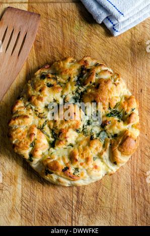 Italienisches Brot herby