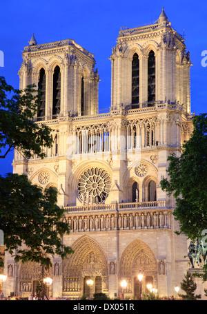 Notre Dame de Paris, France - Stockfoto