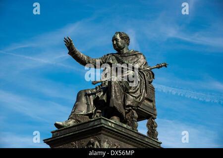Denkmal für König Maximilian ich Joseph von Bayern, München, Upper Bavaria, Bayern, Deutschland - Stockfoto