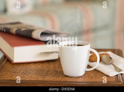 Kaffee-Zeit Pause Stockfoto