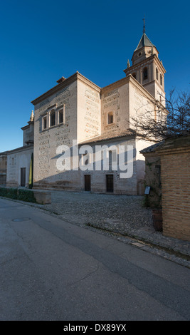 Iglesia de Santa María De La Alhambra (St. Mary Church der Alhambra) - Stockfoto