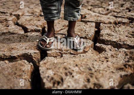 Dhaka, Bangladesch. 21. März 2014. 22. März beobachtet wie World Water Day, die internationale Beachtung der World - Stockfoto