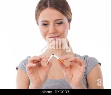 Wann hören die Depressionen nach dem Rauchstopp auf?