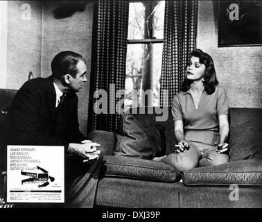 JAMES STEWART & LEE REMICK ANATOMIE EINES MORDES (1959 Stockfoto ...