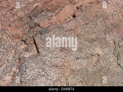 Full-Frame-rötliche abstrakte Stein Hintergrund - Stockfoto