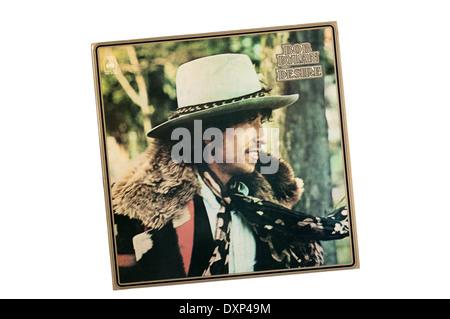 Wunsch war das 17. Studioalbum US-amerikanischer Singer-Songwriter Bob Dylan. Es wurde 1976 von Columbia Records - Stockfoto