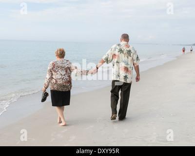 Paar genießt Freizeit in Florida, USA - Stockfoto