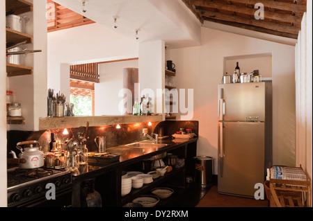 Im Inneren einer Goa-Küche Stockfoto, Bild: 33704051 - Alamy