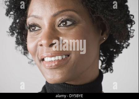 Porträt von Reife Frau - Stockfoto