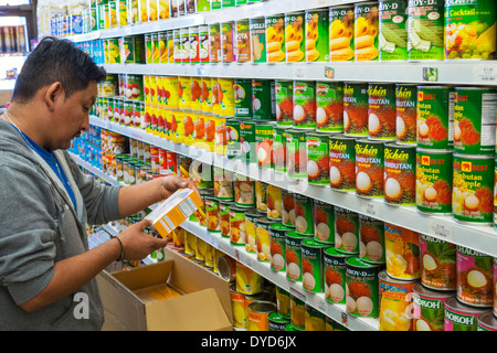 Orlando Florida East Colonial Drive Little Saigon Tien Hung Oriental Foods einkaufen Supermarkt Lebensmittel Verkauf - Stockfoto