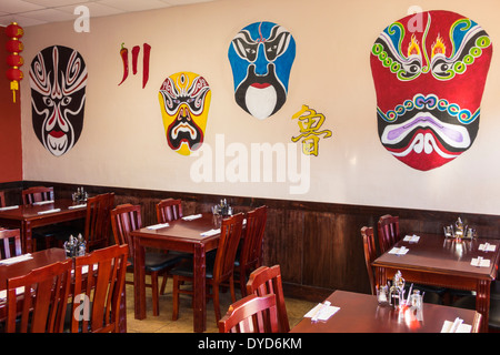 Orlando Florida East Colonial Drive Little Saigon asiatische Küche Restaurant im Inneren Masken Chuan Lu Gärten - Stockfoto