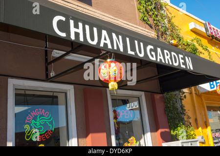 Orlando Florida East Colonial Drive Little Saigon asiatische Küche Restaurant Chuan Lu chinesische Gärten - Stockfoto