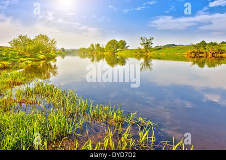Sommerlandschaft - Stockfoto
