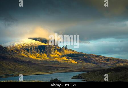 Old Man of Storr auf der Trotternish-Halbinsel auf der Isle Of Skye. - Stockfoto