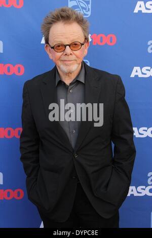 Los Angeles, Kalifornien, USA. 23. April 2014. Paul Williams besucht 31. Annual ASCAP Pop Music Awards statt im - Stockfoto
